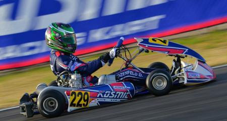 Kosmic Racing Department sa v Sarne prebojoval do posledného kola WSK Super Master