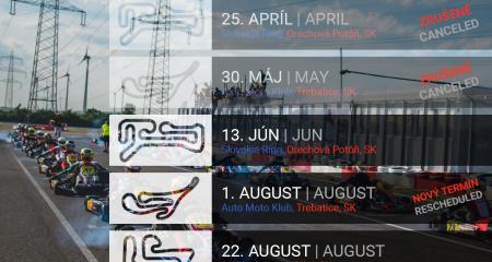 Upravený kalendár pre rok 2020