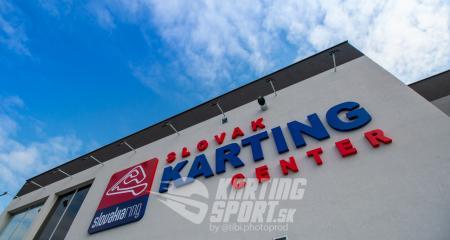 Slovenské kartingové centrum oficiálne otvorené verejnosti