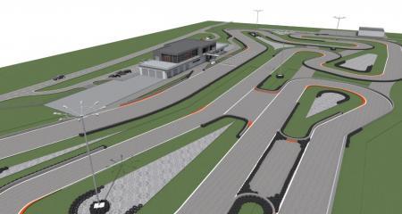 Pri okruhu SLOVAKIA RING vyrastá nové motokárové centrum